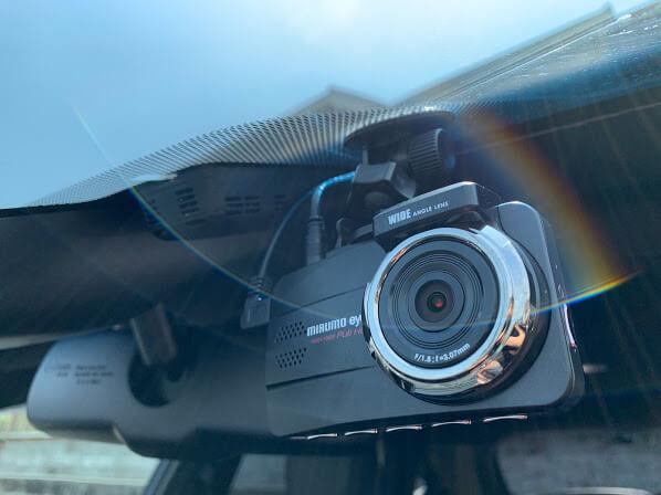 【車関係】ドラレコmirumo eye DRC-32STのレビュー。煽り運転防止に、自己防衛に。